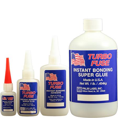 Turbo Fuse Cyanoacrylate Adhesive Industrial Grade Formulas Palm ...