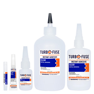 Turbo Fuse Metal Bonding Methyl Cyanoacrylates